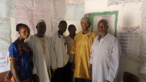 school officials at Adoum Cherif