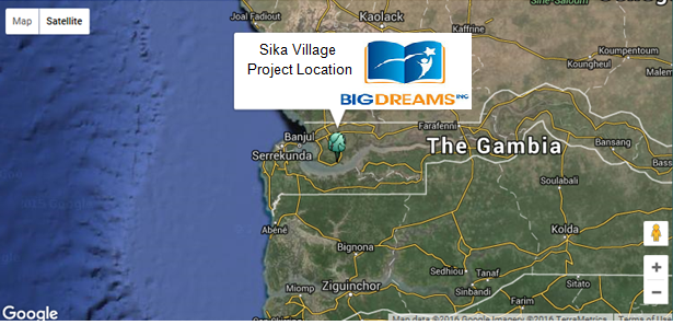 Sika Village Project Location
